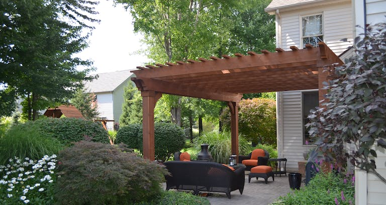 The Purpose And Function Of Pergolas Woodland Deck