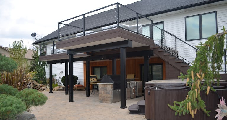 Extend Your Living Space By Using The Area Under Your Deck Woodland