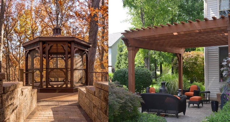What is the difference between a pergola and a gazebo? - Pergola Vs. Gazebo: What Is The Difference Between Pergola And Gazebo