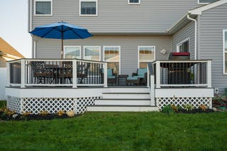 Custom Trex Composite Deck in Copley