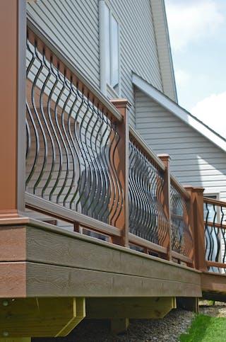 Deck Remodeling - Railing