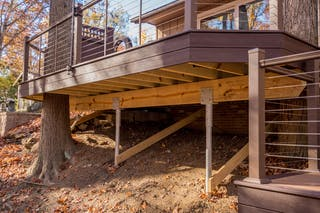 Broadview Heights Engineered Deck