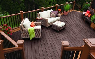 Trex Decking, Railing and Stairs